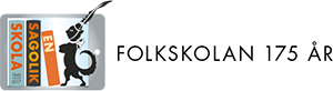 En sagolik skola Logotyp
